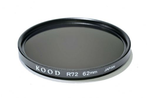 Kood High Quality R720  Infrared Special Effects Filter 62mm Made in Japan